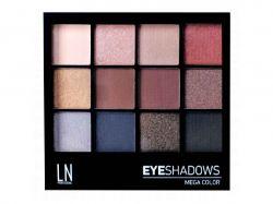 Набір тіней для повік Mega Color №12-2 ТМLN PROFESSIONEL