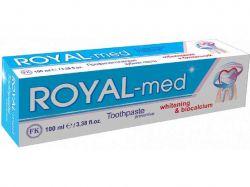 Зубна паста Роял-мед 100мл Відбілювання биокальций (синя) ТМКОМБІ