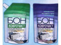 Засіб для чищення килимових покриттів та текстилю 200г ТМБОН
