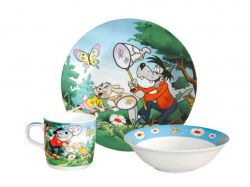 Набір посуду дитячий 3 предмети С344 П01491 ТМДАНКО