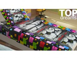 Комплект п/б дитячий TEEN 150*220 Джокер (50Х70) KD10084-50 ТМKidsdream