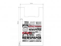 Пакет-майка Газета 270*450 (100шт) ТМПЛАСТИК ПАК