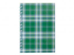 Зошит на пружині збоку А6, 48л. Shotlandka зелений, кл. BM.2592-04 ТМBUROMAX