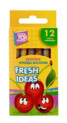 Крейда воскова Fresh Ideas 12 кольорів CF60706 ТМCFS