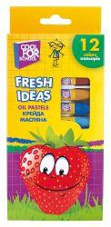 Крейда масляна Fresh Ideas 12 кольорів CF60708 ТМCFS