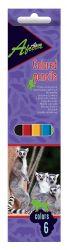 Олівці кольорові Africa 6 кольорів Economix E11609 ТМCFS