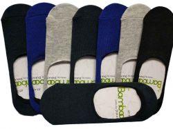 Шкарпетки-сліди бамбук чол. арт. 307 р. 41-45 (12 пар/уп) ТМДУКАТ