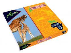 Пластилін Africa 10 кольорів, 200г картон, Economix E60607 ТМCFS