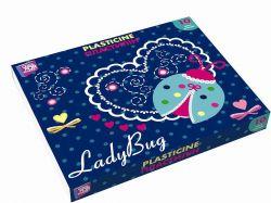 Пластилін Ladybug, 10 кольорів, 200г картон CF60204 ТМCFS