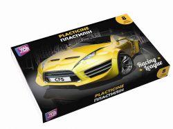 Пластилін Racing League, 8 кольорів, 180г картон CF60203 ТМCFS