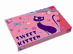 Пластилін Sweet Kitten, 8 кольорів, 180г картон CF60202 ТМCFS