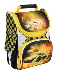 Ранець шкільний каркасний 13,4 Fast 701 CF86187 ТМCFS