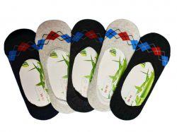 Шкарпетки-сліди бамбук жіночі арт. 303 р.36-40 (12 пар/уп) ТМДУКАТ