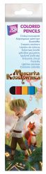 Олівці кольорові пластикові Микита Кожумяка 6 кольорів NT08105 ТМCFS