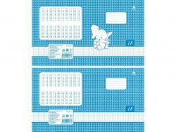 Зошит 18 аркушів, шкільний, в клітинку (20шт) ТЕ170 ТМТЕТРАДА