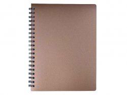 Книжка записна STATUS А4, 80арк.,кл., бронза BM.24452153-51 ТМBUROMAX