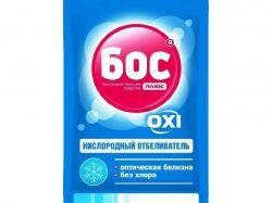 Відбілювач кисневий OXI для білих тканин сошет 50г ТМБОС плюс