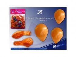 Кульки повітряні 10 металік помаранчевий (100шт) 167-1 ТМКИТАЙ