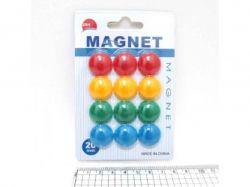 Магніт для магнітної дошки Colours 2см (12шт) в блістері 1570DSCN ТМКИТАЙ