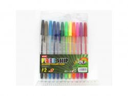 Набір ручок кулькових 12 кольорів Ellott 936-12 ТМКИТАЙ