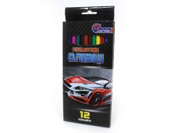 Олівці пластикові Racing 12 кольорів, картон J. Otten 1051BA_12 ТМКИТАЙ