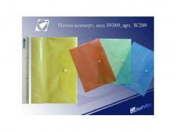 Папка-конверт My Clear середня 209-16S ТМКИТАЙ