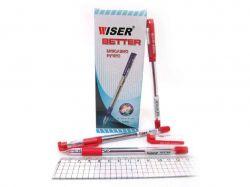Ручка масляна Wiser Better 0,7мм червоний (12шт) better-rd ТМКИТАЙ