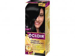 Фарба для волосся 10 Чорний (з олією OMEGA 9) ТМEclair