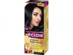 Фарба для волосся 11 Синяво-чорний (з олією OMEGA 9) ТМEclair