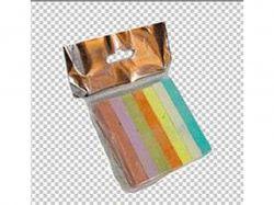 Крейда 7 кольорів квадратна №ПК-807 Пакет 70х15х10мм ТМЛюкс Колор