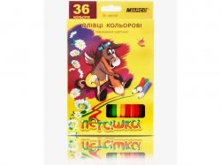 Олівці Пегашка 36 кольорів №1010-36CB ТМMARCO
