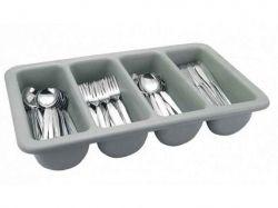 Ящик пластиковий 4-секційний для столових приладів 510*280*90мм 1311 ТМEMPIRE