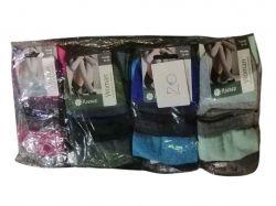 Шкарпетки жіночі Смужка крупна р.36-40 (12пар/уп) ТМКлевер