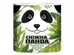 Туалетний папір 4шт Бамбук ТМСніжна панда
