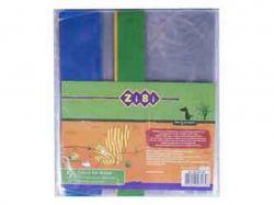 Обкладинка для підручника 250*420мм, PVC ZB.4722-99 5 шт./уп ТМZIBI