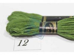 Муліне однотонне (поштучно) 8м 12 (615) ТМCHINA