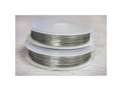 Дріт 10м 0.30мм срібний 2000000025469 ТМCHINA