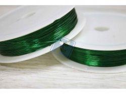 Дріт 50м 0.30мм зелений ТМCHINA