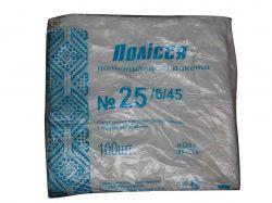 Пакет-майка Полісся (№25) №36 240*450 (100шт) ТМПЛАСТИК ПАК