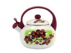 Чайник емальований зі свистком 2,2л FT7 40/L 00081052 ТМZAUBERG