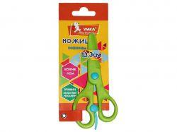 Ножиці дитячі пластик 13,3см безпечні зелений НЦ405-04 ТМУМКА