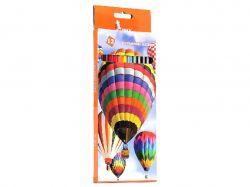 Олівці кольорові Кулі 12 кольорів ЦК42-7 ТМУМКА