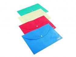 Папка з кнопкою А4 РР 160мкн Pastel блакитний 5102-05 ТМNORMA