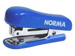 Степлер 10/4 27мм міні, 8арк. з дестеплером синій 4051 ТМNORMA