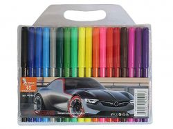 Фломастери Авто 18 кольорів 8.3мм ФЛ46-2 ТМУМКА