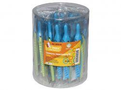 Циркуль пластик 120мм в вініловому чохлі, зелений/блакитний ЦР03-04 ТМУМКА