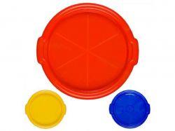 Піднос круглий пластиковий 35см PT-70917 MPH019056 ТМПласторг