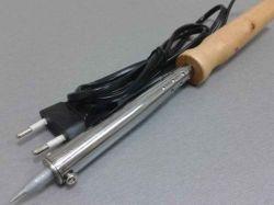 Паяльник з деревяною ручкою WD-80Вт 10513 ТМProwest