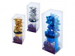 Набір декору для святкової упаковки 20мх5мм (4 банта1 стрічка) 8990 ТМSTENSON