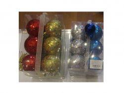 Ялинкові кульки 5см 12шт в коробці R28100 ТМSTENSON
